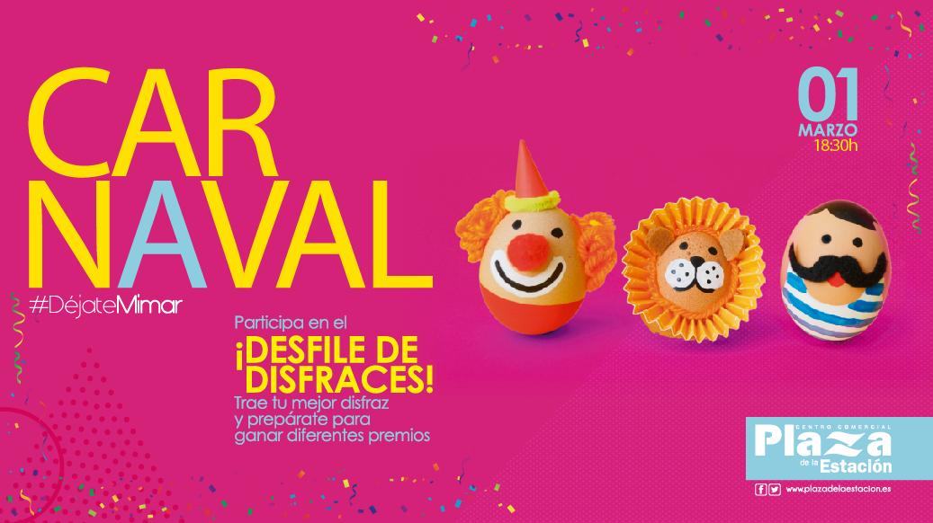 Celebra el Carnaval en Plaza estación