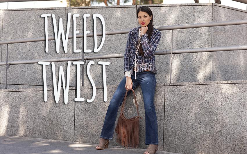 """Así se lleva el """"tweed"""""""